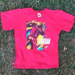 Vintage 80s Nike AIR JORDAN  Tshirt Sz S-M